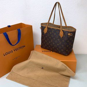AUTHENTIC Louis Vuitton Neverfull PM Mono in Box